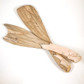 Spalted Maple Salad Servers