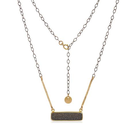 Elegant Geode Necklace