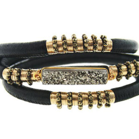 Elegant Leather Bracelet