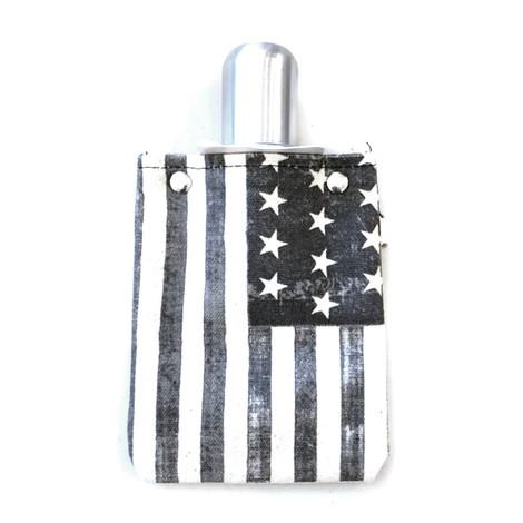 USA Flag Flask