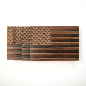 Americana Leather Coasters