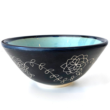 hand carved bowl