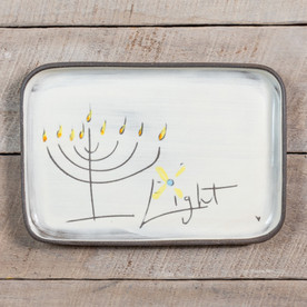 Jewish Holiday Plate