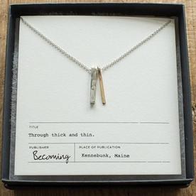 Minimal Valentine's Day Necklace