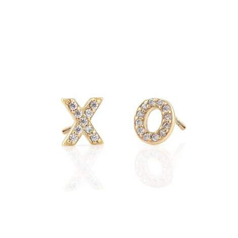 Hugs and Kisses Stud Earrings