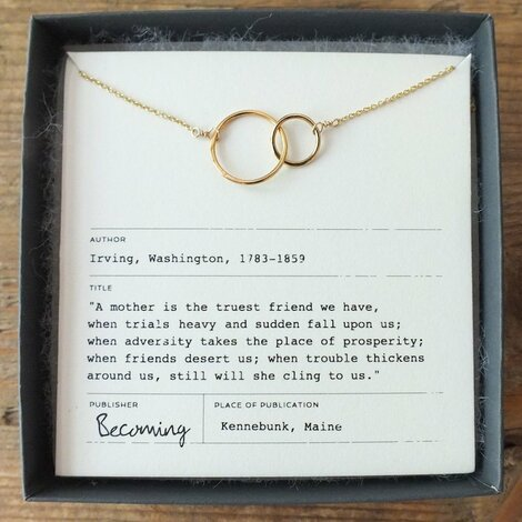 Mother's Day Simplistic Necklace