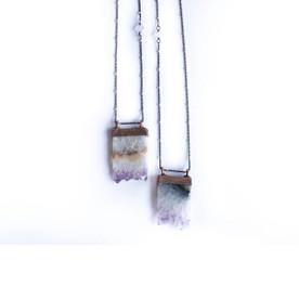 amethyst pendant necklace