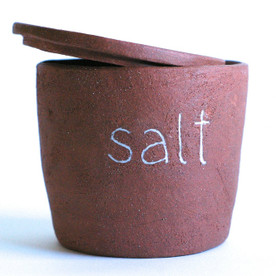 Ceramic Salt Cellar - Made in the USA