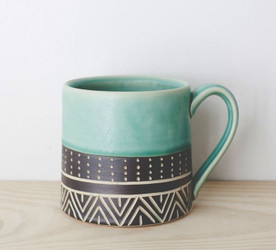 Stoneware Coffee Mugs