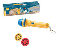 """Moulin Roty - Kids Story Flashlight / Storybook Torch - """"Les Papoum"""""""