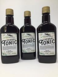 Yoder Naturals Herbal Tonic Herb Infused Apple Cider Vinegar Supplement 25 fl oz, 3 Bottle Deal 3 x 25 fl oz