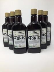 Yoder Naturals Herbal Tonic Herb Infused Apple Cider Vinegar Supplement 25 fl oz, 6 bottle deal, 6 x 25 fl oz