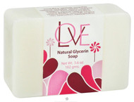 Auric Blends Love Natural Glycerin Bar Soap - 3.6 Ounce Bar