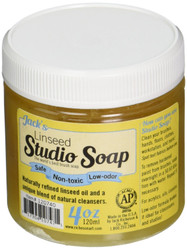 Jack Richeson 120740 120 ml Linseed Studio Soap