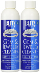 2-Pack 8 oz Blitz Concentrated Jewelry Cleaning Solution
