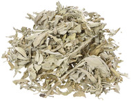 California White Sage Loose Leaves, Salvia Apiana Clusters, Dry Smudging & Burning Sage, 1 Lb Bag
