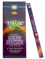 JBJ Sac Money Drawing Incense, 120 Sticks