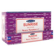Satya Sunrise Incense Sticks, 180 grams