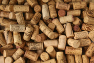 Premium Recycled Corks, Natural Wine Corks From Around the World 50 Count