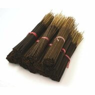 Green Tea Natural Incense Sticks - 85-100 Stick Bulk Pack - Hand Dipped, 60 Minute Burn, 11 Inches Long