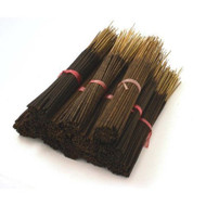 Black Coconut Natural Incense Sticks - 85-100 Stick Bulk Pack - Hand Dipped, 60 Minute Burn, 11 Inches Long