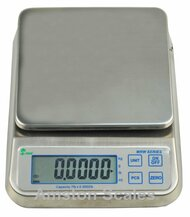 NSF 33lb x 0.001lb Digital Washdown Scale, Kitchen Scale, Portion Control Scale