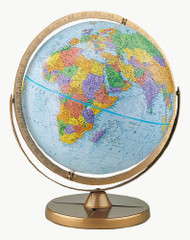 Replogle Pioneer Desktop Globe, Blue