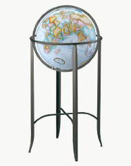 Replogle Trafalgar Floor Globe, Blue