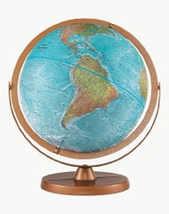 Replogle Atlantis Desktop Globe, Blue