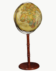 Replogle Commander II Floor Globe, Antique