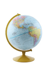Replogle Explorer Desktop Globe, Blue