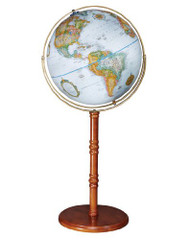 Replogle Edinburgh II Floor Globe, Blue