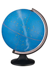 Replogle Constellation Illuminated Desktop Globe, Blue Constellation