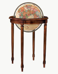 Replogle Regency Floor Globe, Antique