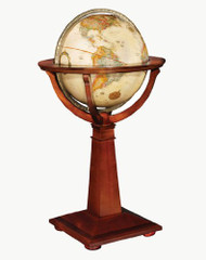 Replogle Logan Floor Globe, Antique
