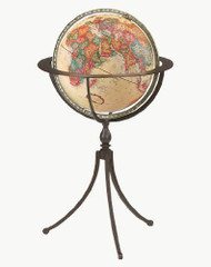 Replogle Marin Floor Globe, Antique