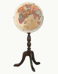 Replogle Cambridge Floor Globe, Antique