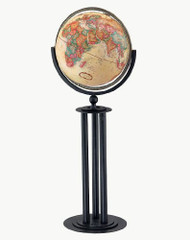 Replogle Forum Floor Globe, Antique