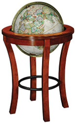 Replogle Garrison Floor Globe, Antique