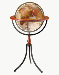 Replogle Santa Fe Floor Globe, Bronze Metallic