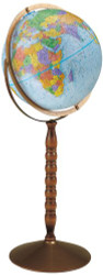 Replogle Treasury Floor Globe, Blue