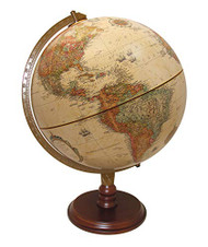 Replogle Lenox Desktop Globe, Antique