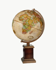 Replogle Glencoe Desktop Globe, Antique