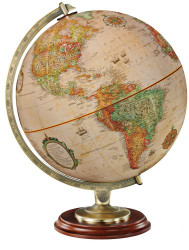 Replogle Kingston Desktop Globe, Antique
