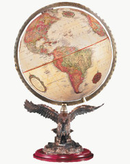 Replogle Freedom Desktop Globe, Antique
