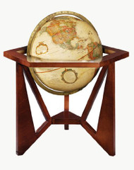 Replogle San Marcos Desktop Globe, Antique