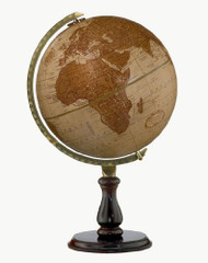 Replogle Leather Expedition Desktop Globe, Leather