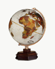 Replogle Usonian Desktop Globe, Bronze Metallic