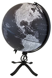 Replogle Hamilton Desktop Globe, Black