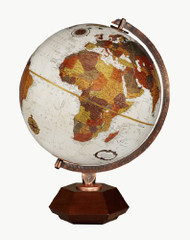 Replogle Hexhedra Desktop Globe, Bronze Metallic